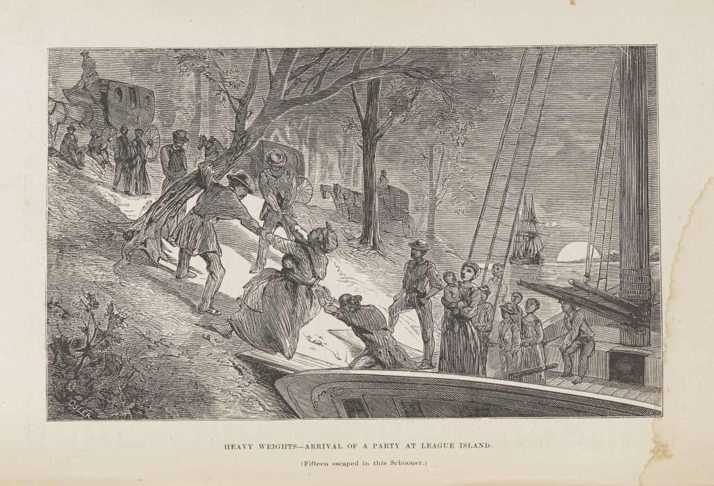 Fleeing Enslavement Via Boat