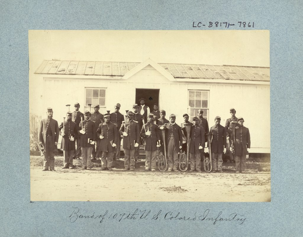 Band of 107th U.S. Colored Infantry.