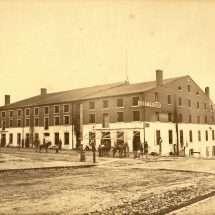 Libby Prison Exterior