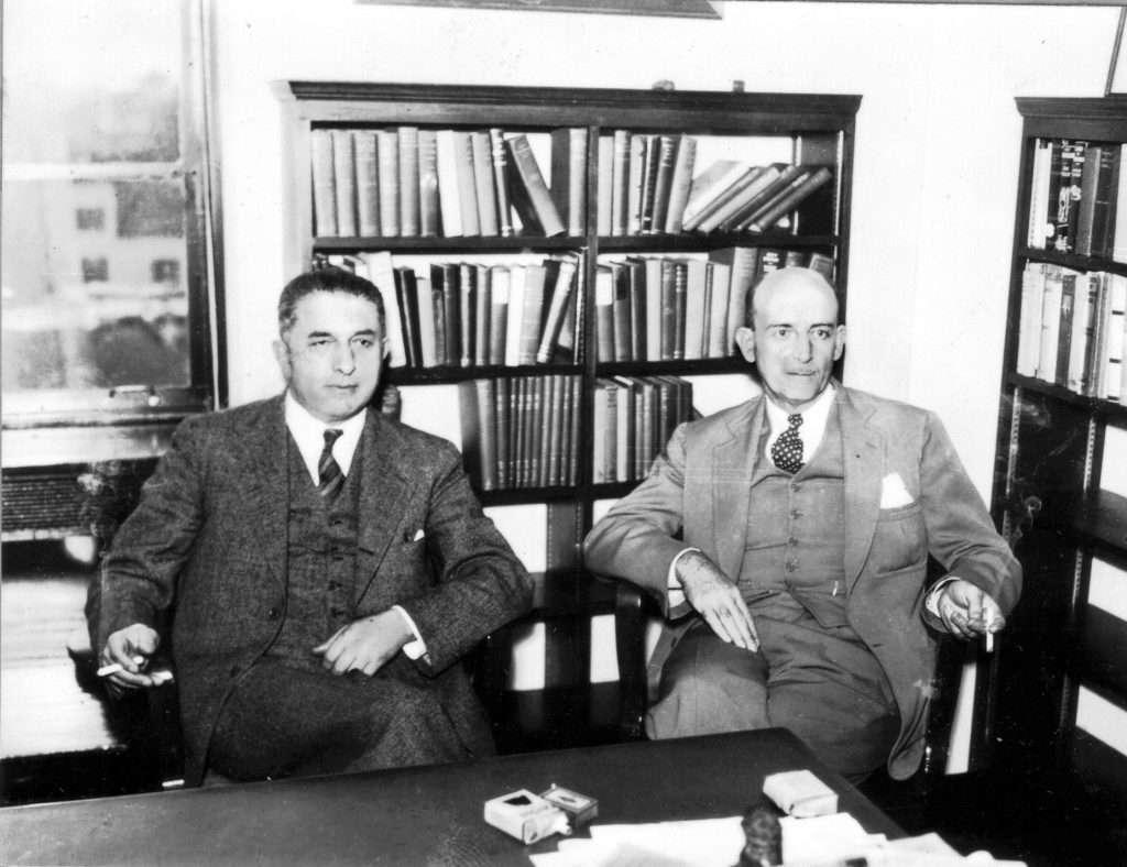 Louis Isaac Jaffé and Joseph Lenoir Chambers