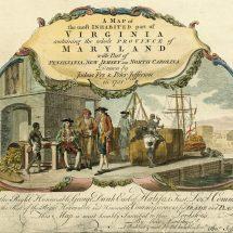 Cartouche on Fry-Jefferson Map