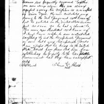 Depositions for the Claim of Benjamin Summers (February 6