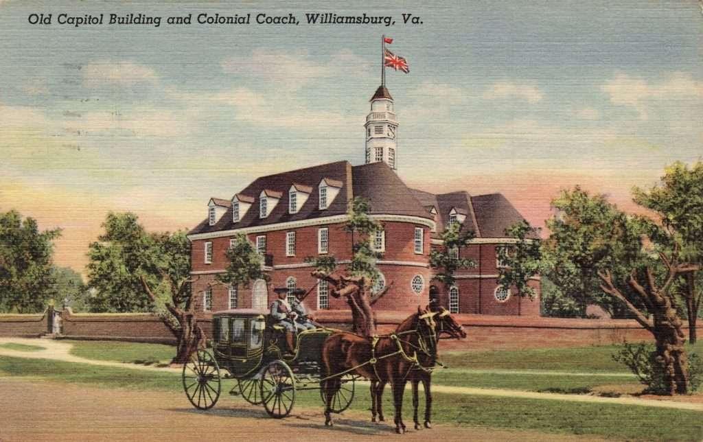 Capitol Building in Williamsburg