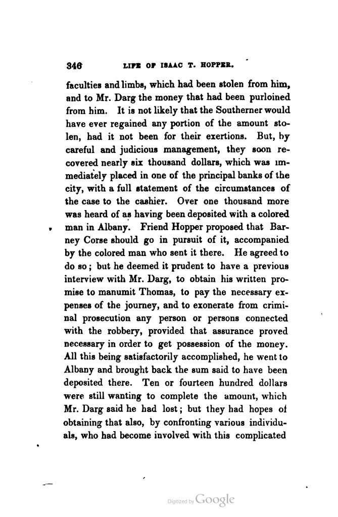 Isaac T. Hopper: A True Life (1854)