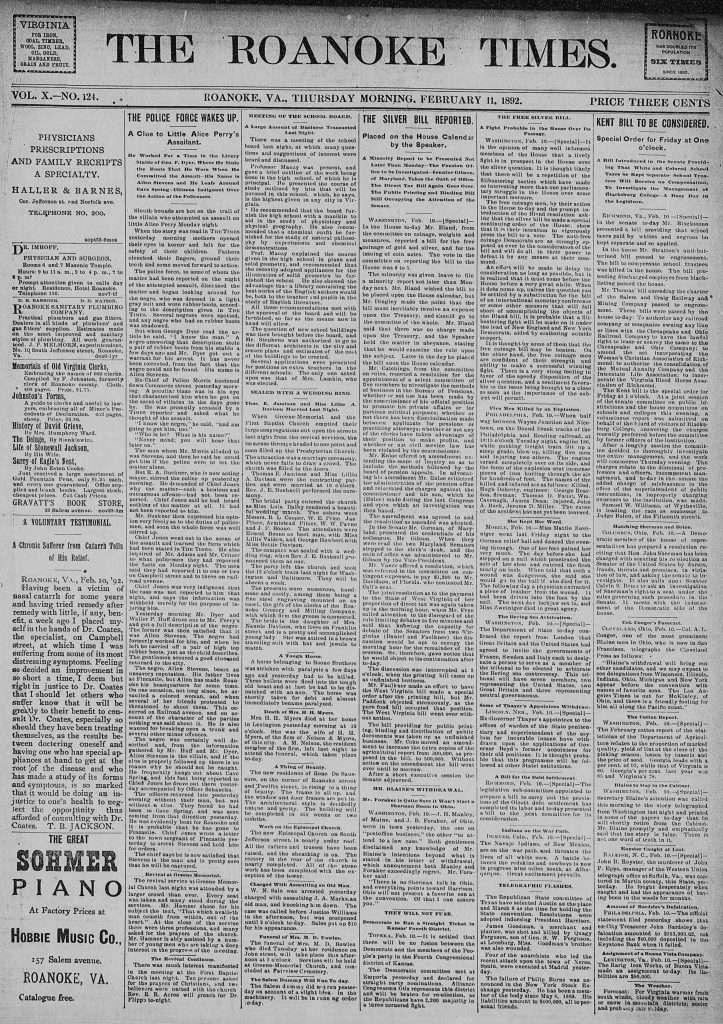Roanoke Times (February 11