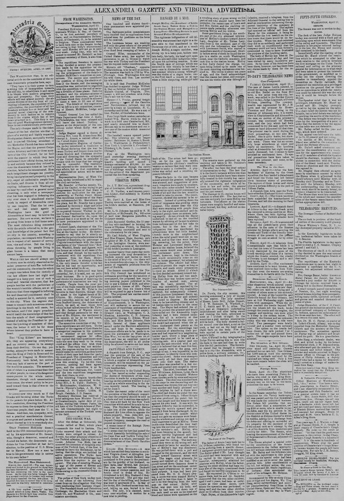 Alexandria Gazette (April 23