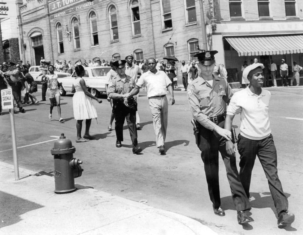 Danville Civil Rights Demonstrators