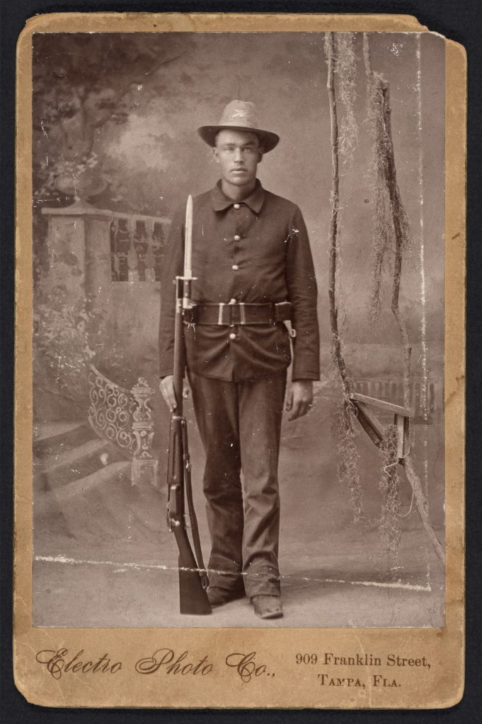 African American Soldier during the Spanish-American War