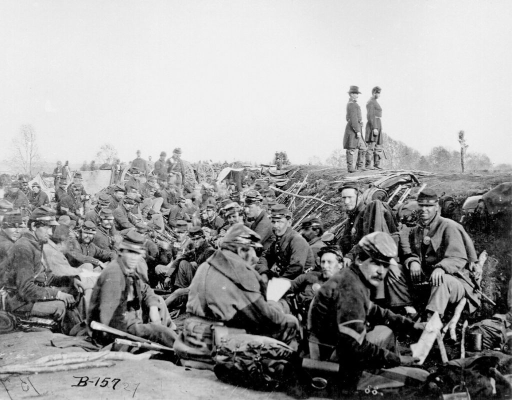 Union Soldiers by the Rappahannock