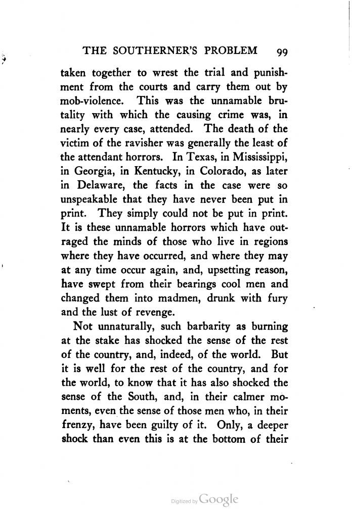 The Negro: The Southerner's Problem by Thomas Nelson Page (1904)