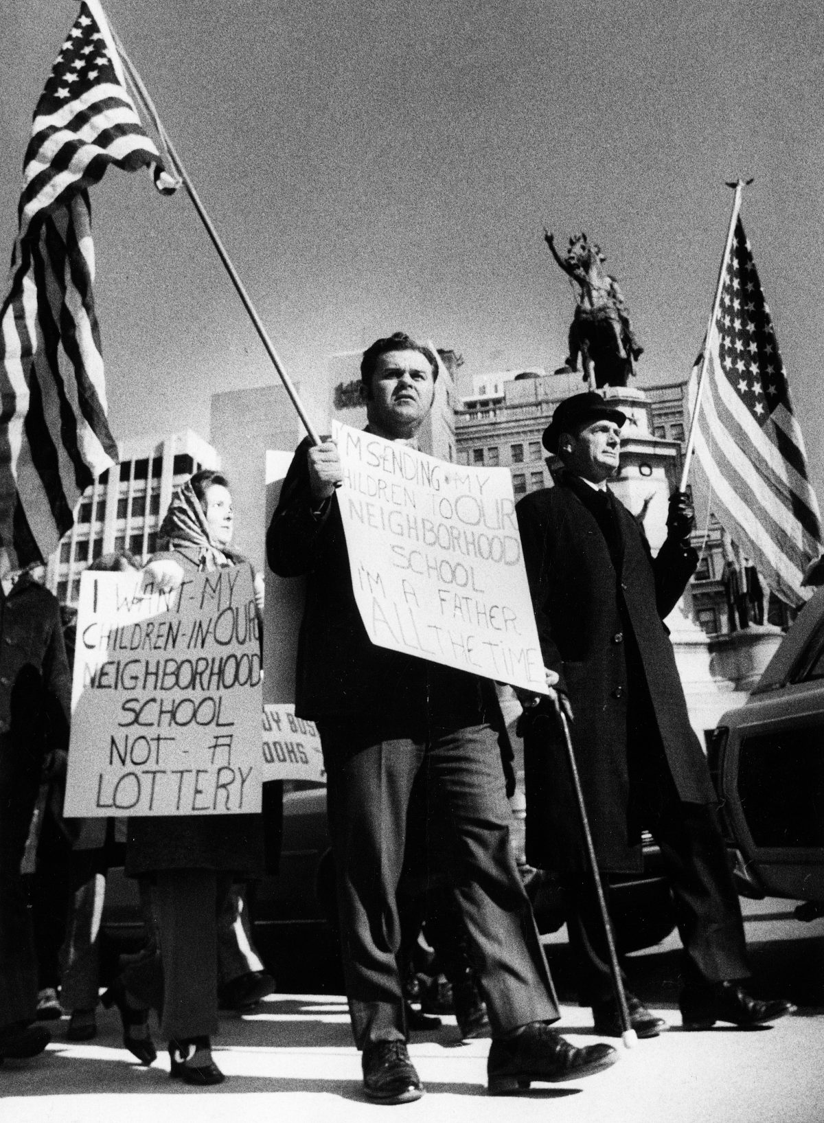 Richmond Parents Protest Desegregation Policy