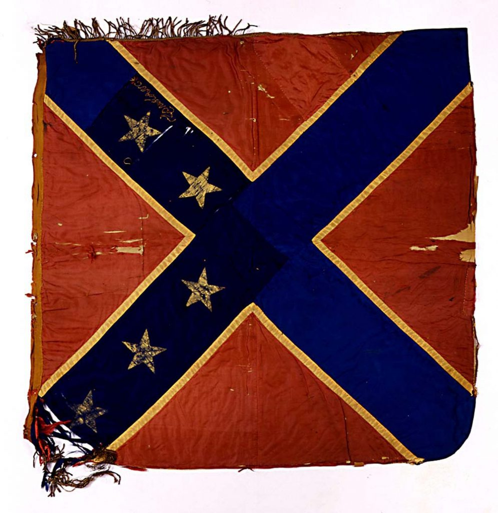 Confederate Flag Sewn by Constance Cary