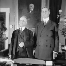 Carter Glass and William G. McAdoo