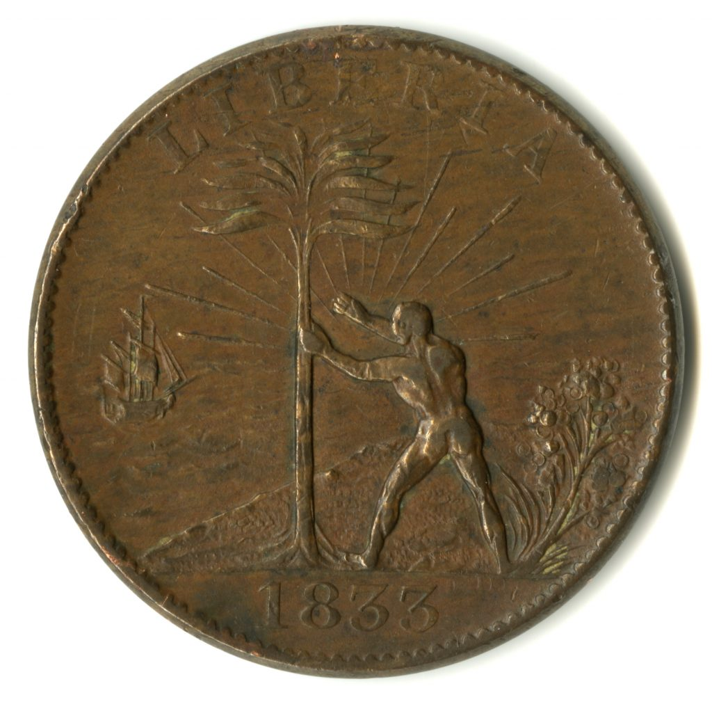 American Colonization Society Token