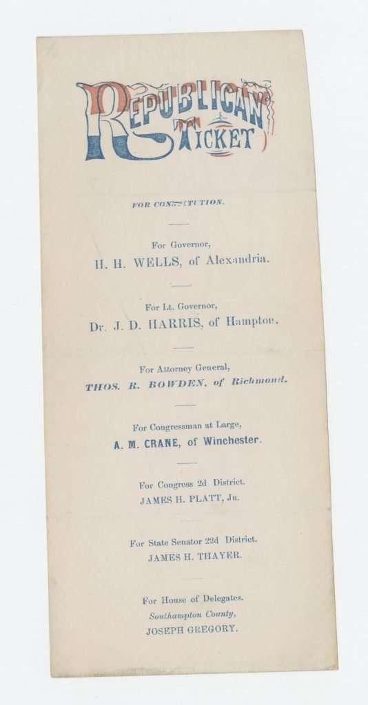 Republican Ticket (1869)