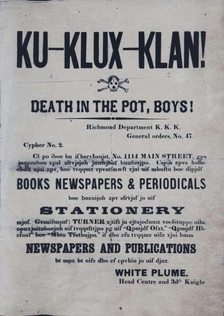 Ku-Klux-Klan! Death in the Pot