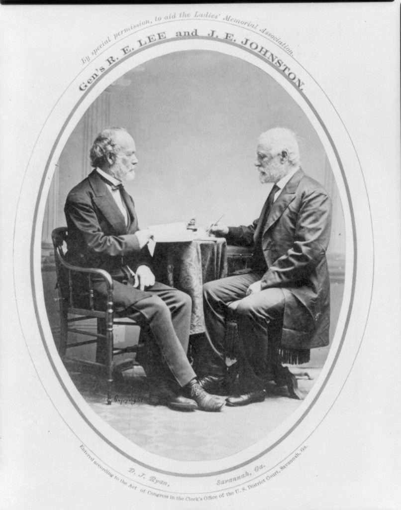 Robert E. Lee and Joseph Johnston