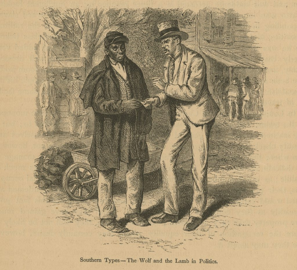 Southern Types—The Wolf and the Lamb in Politics.