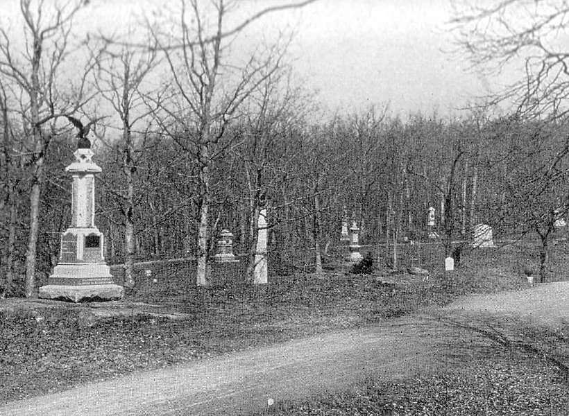 Monuments to Union Regiments