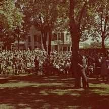 Inauguration Ceremony for Colgate W. Darden