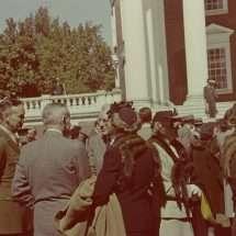 Crowd at Colgate W. Darden's Inauguration