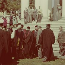 Colgate W. Darden during Inaugural Ceremonies as President of the University of Virginia