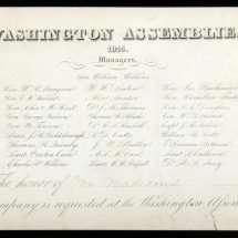 Invitation to Washington Assemblies