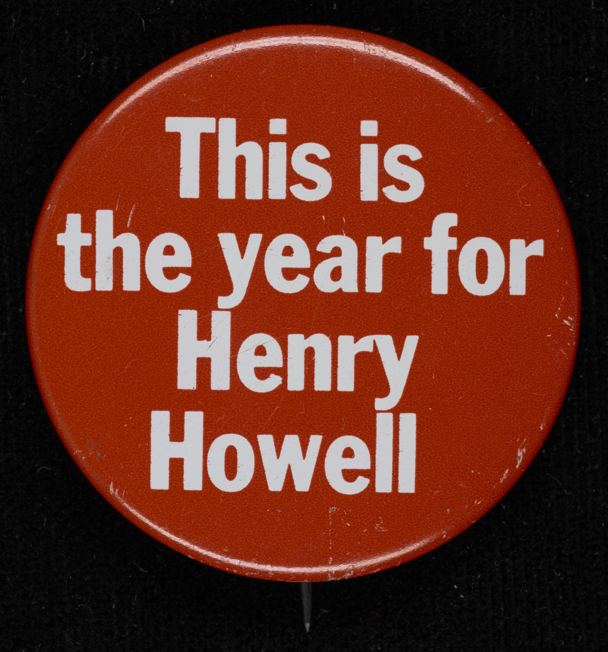 This is the year for Henry Howell