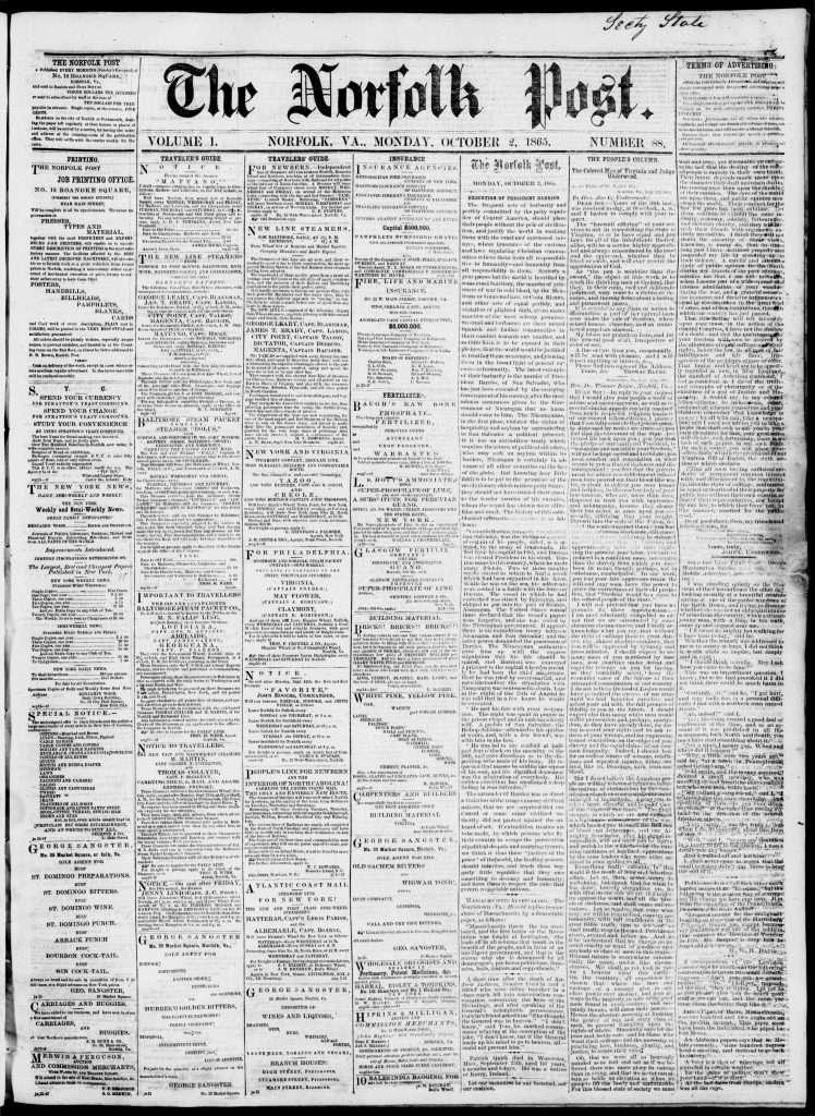 The Norfolk Post (October 2