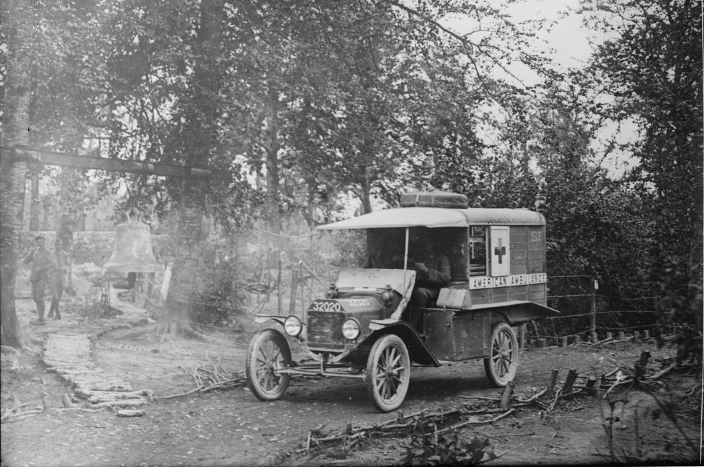 American Field Service Ambulance in France