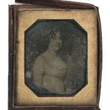 Daguerreotype Copy of Dolley Madison Portrait