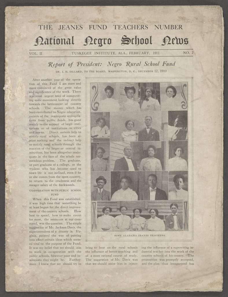Report of President: Negro Rural School Fund