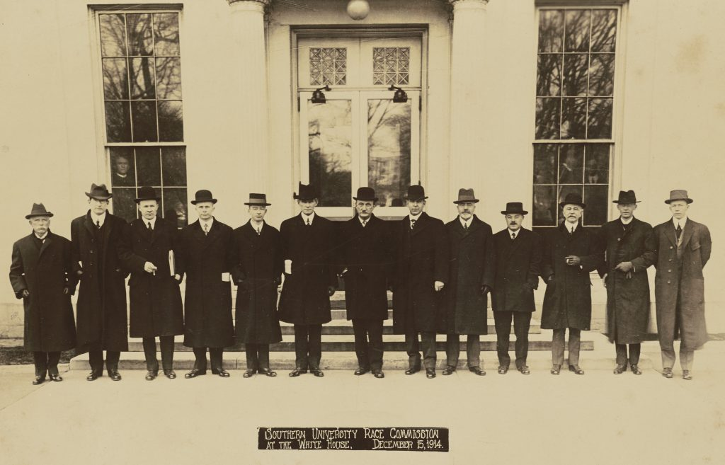 Southern University Race Commission at the White House