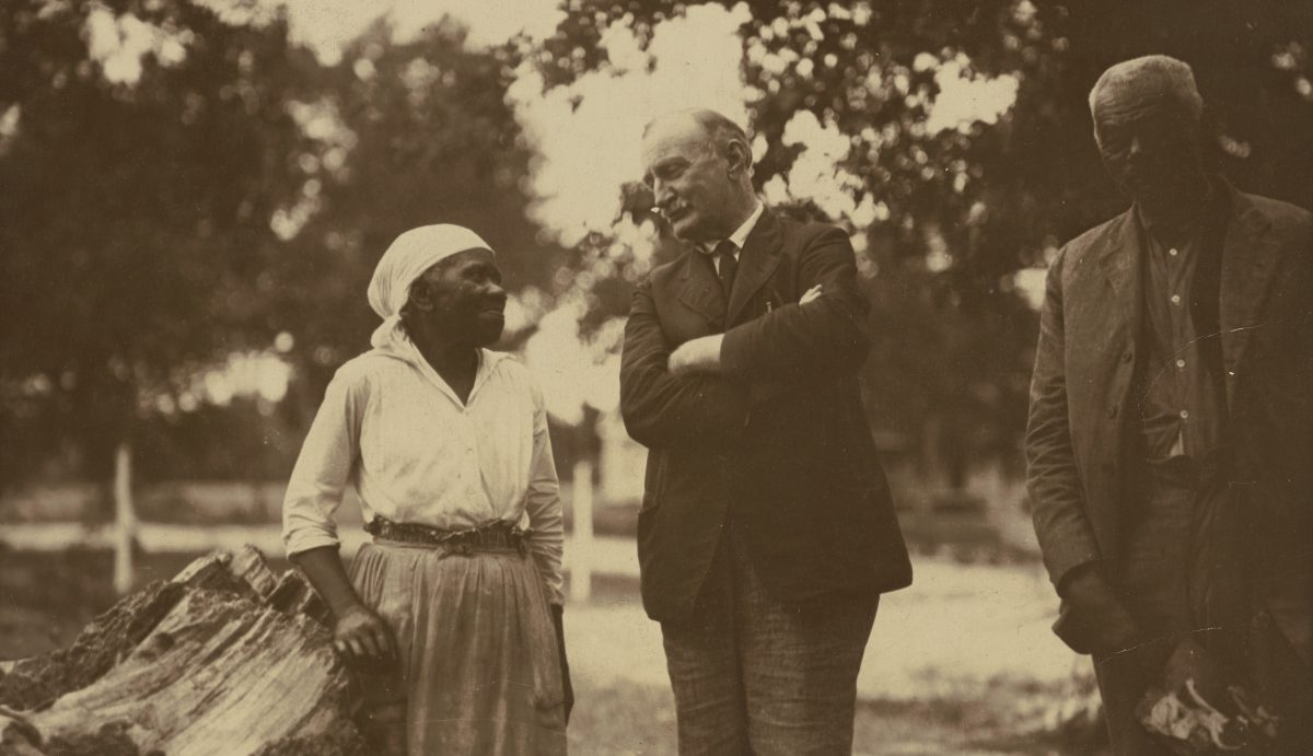 J. H. Dillard with Unidentified African Americans