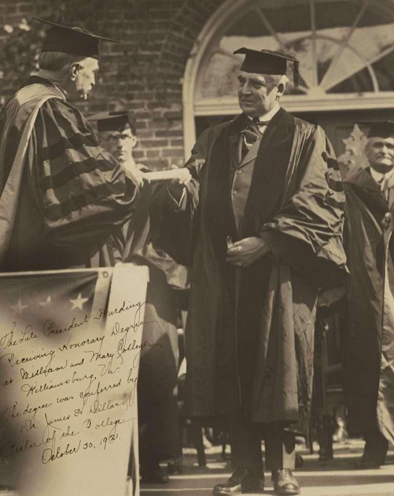 J. H. Dillard Confers Honorary Degree