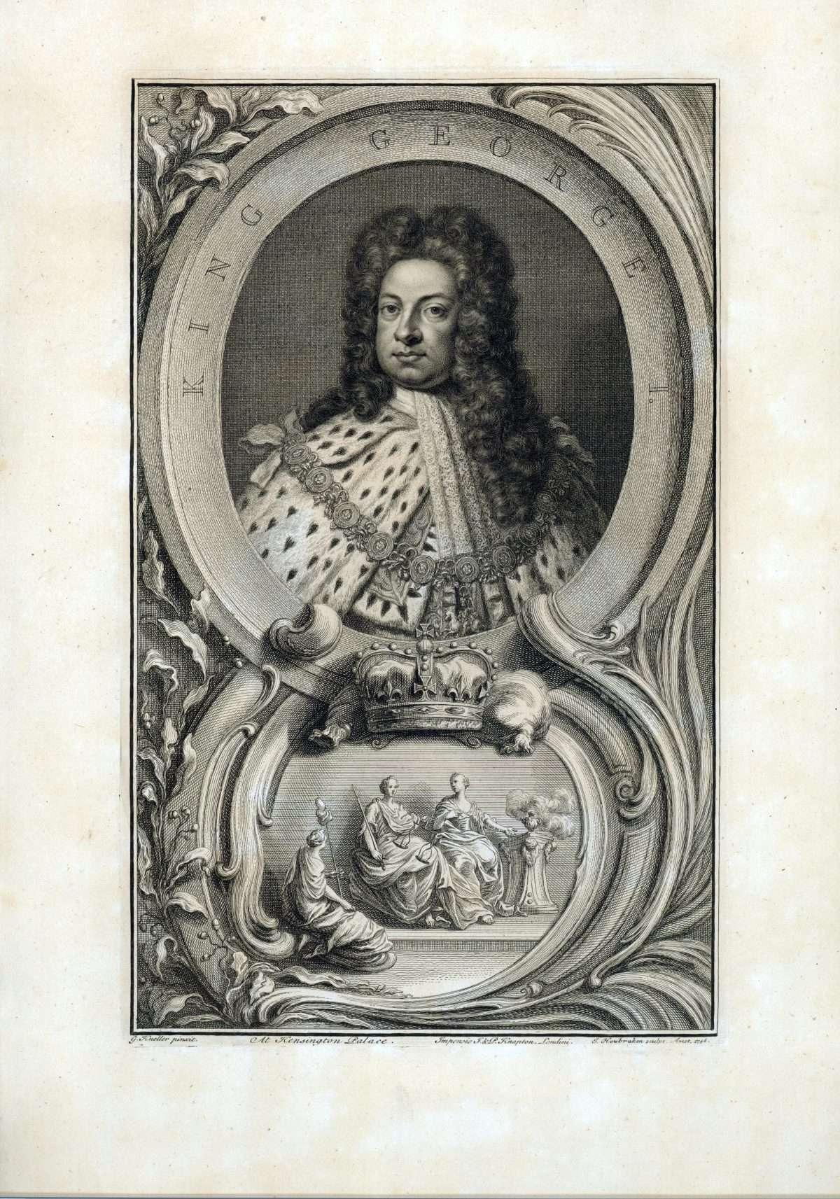 King George I.
