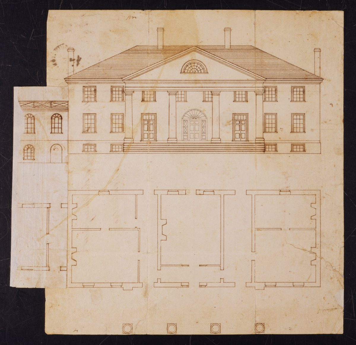 Architectural Plans for Montpelier