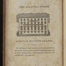 The Saratoga Street African American Chapel.
