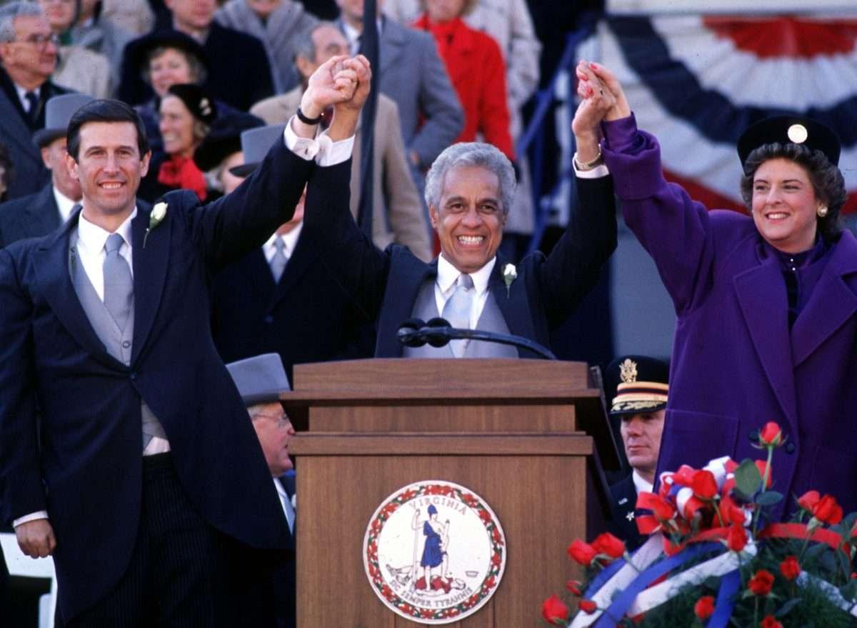 1990 Gubernatorial Inauguration