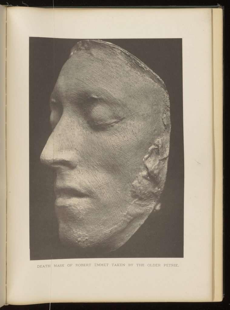 Death Mask of Robert Emmet Taken by the Older Petrie.