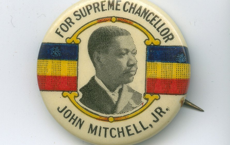 Campaign Button for John Mitchell Jr.