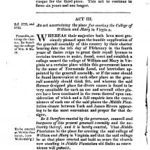The Statutes at Large; Being a Collection of All the Laws of Virginia from the First Session of the Legislature in the Year 1619 (1812)