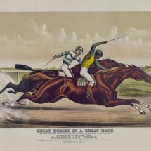Great Horses in a Great Race