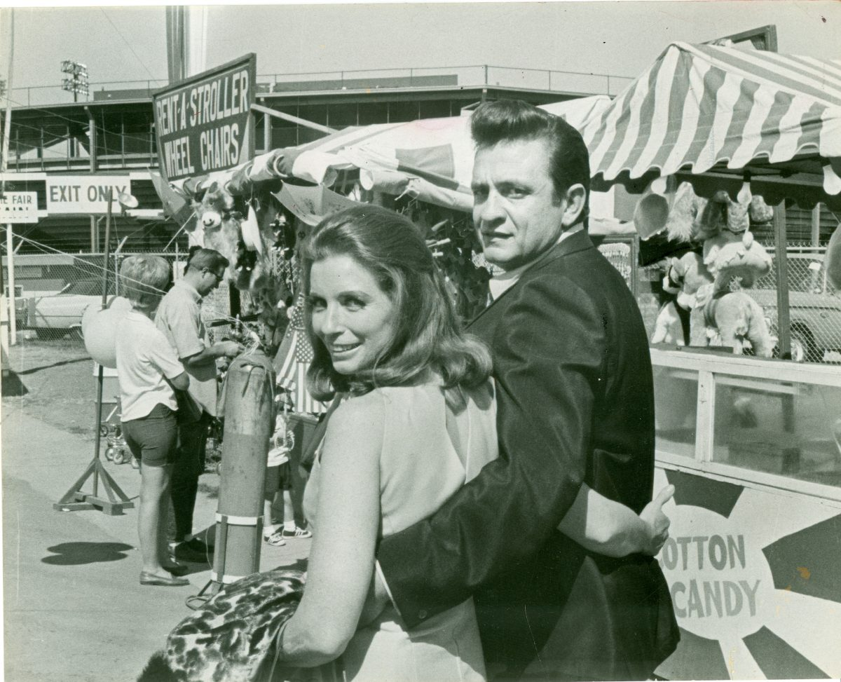 June Carter Cash and Johnny Cash