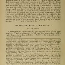 The Federal and State Constitutions Colonial Charters