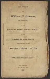 Brodnax, William H. (ca. 1786–1834)