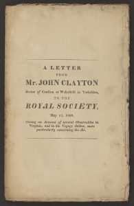 Clayton, John (1656 or 1657–1725)