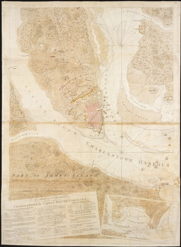 A Sketch of the Operations Before Charleston the Capital of South Carolina