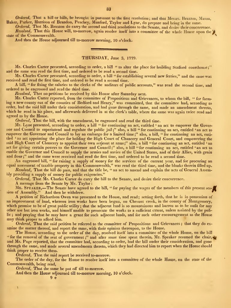 Journal of the House of Delegates of the Commonwealth of Virginia (1827)