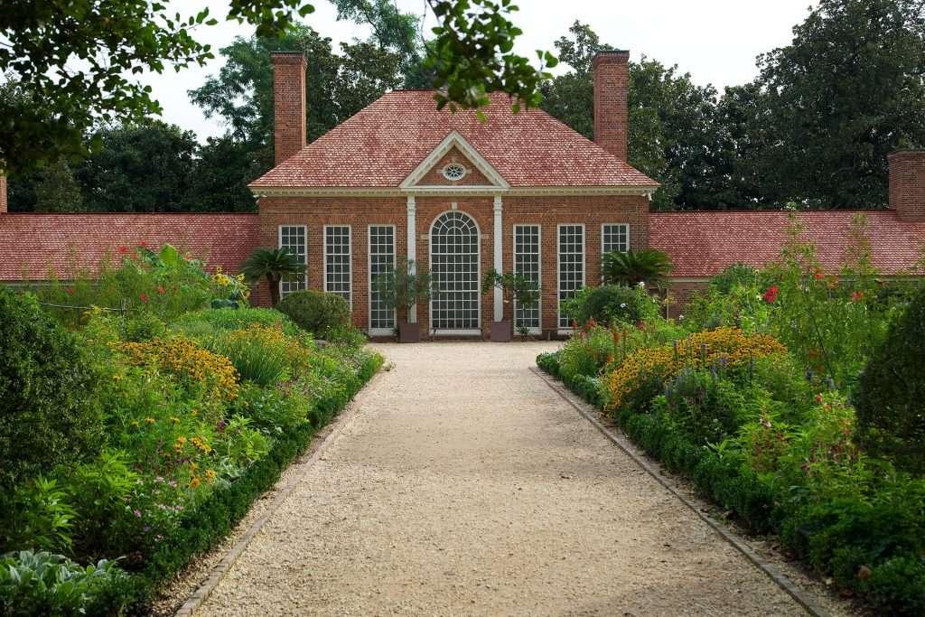 The Upper Garden at Mount Vernon